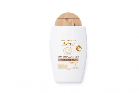 Eau Thermale Avène Fluido Mineral Color Frasco Con 40 mL