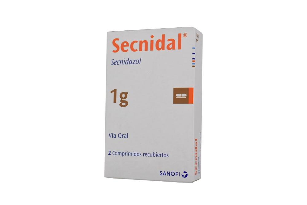 Secnidal 1g Caja Con 2 Comprimidos Rx