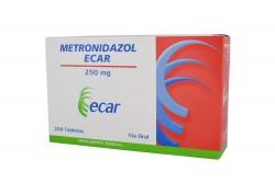 Metronidazol 250 mg Caja X 250 Tabletas Rx2