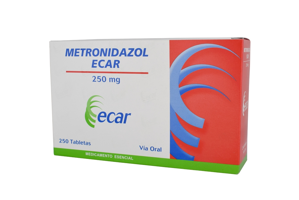 Metronidazol 250 mg Caja Con 250 Tabletas Rx2