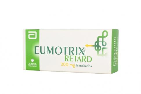 Eumotrix Retard 300 mg Caja Con 20 Tabletas RX