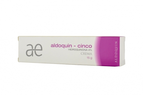 Aldoquin Cinco Crema 4% Caja Con Tubo x 15 g Rx