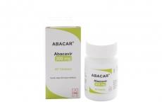 Abacar 300 mg Caja Con Frasco Con 60 Tabletas Recubiertas Rx4