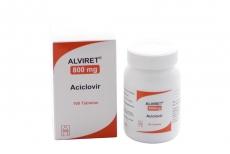 Alviret 800 mg Caja Con Frasco Con 100 Tabletas Rx4
