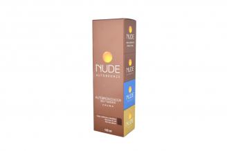 Nude Autobronceador Self Tanner Crema Caja Con Tubo Con 120 mL