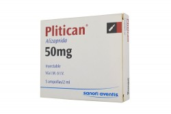 Plitican 50 mg / 2 mL Caja x 5 Ampollas Rx
