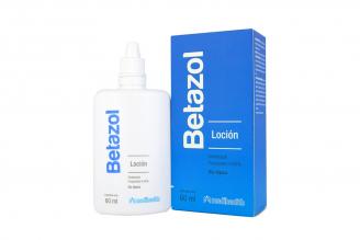 Betazol 0.05% Loción Caja Con Frasco X 60 mL Rx