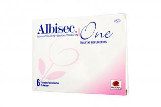 Albisec One 133.33 / 666.667 mg Caja Con 6 Tabletas Rx