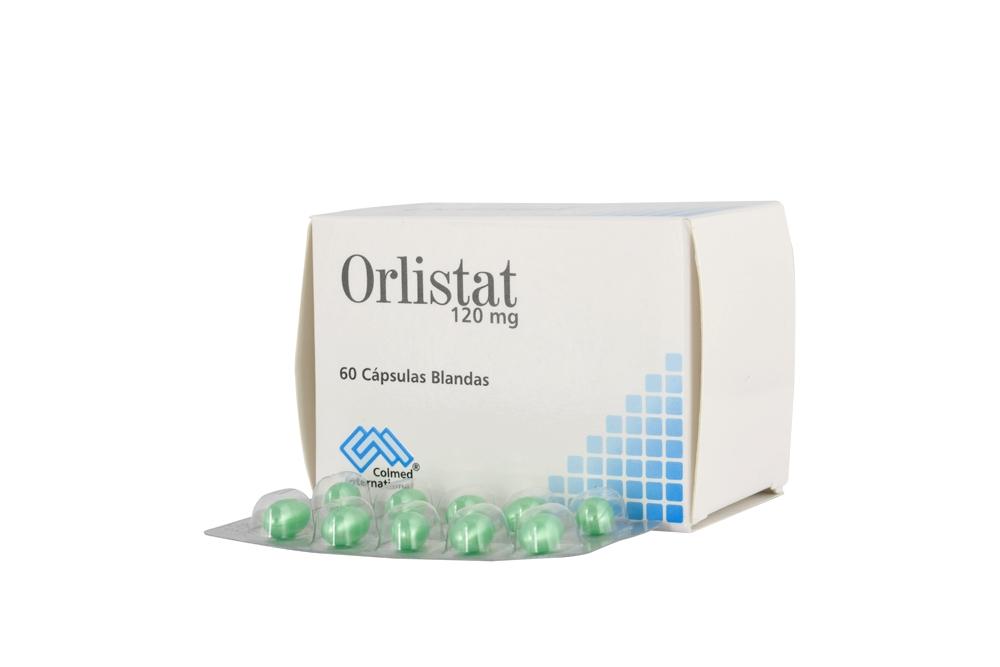 Orlistat 120 mg Caja Con 60 Cápsulas Rx4