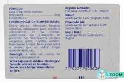 Lantadin 6 mg Caja Con 10 Comprimidos Rx