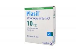 Plasil 10 mg Caja Con 5 Ampollas Rx