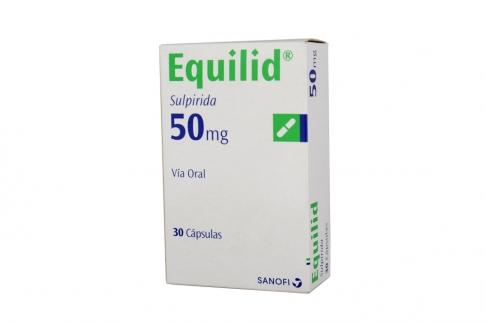 Equilid 50 mg Caja x 30 Cápsulas Rx