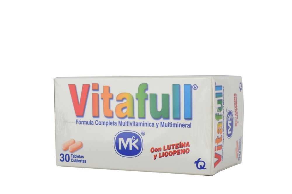 Vitafull Mk Caja x 30 Tabletas Recubiertas