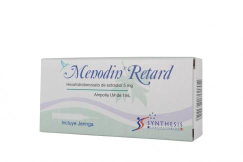 Menodin Retard Caja Con 1 Ampolla Solución inyectable Rx