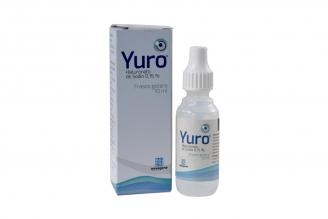 Yuro 0.15% Solución Oftalmica Caja Con Frasco Con 10 mL