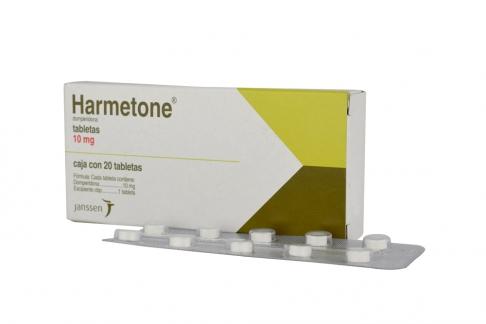 Harmetone 10 mg Caja Con 20 Tabletas RX