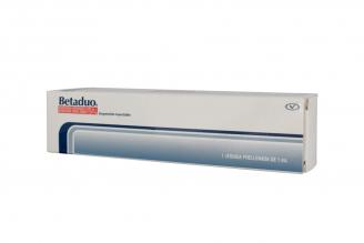 Betaduo Suspensión Inyectable 1 mL Caja Con Jeringa Prellenada Rx4