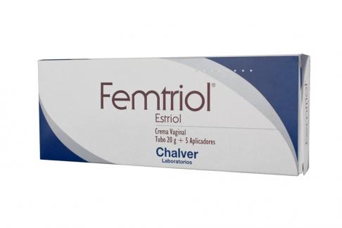 Femtriol Crema Vaginal Caja Con Tubo x 20 g Rx
