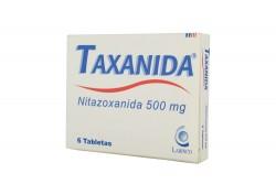 Taxanida 500 mg Caja x 6 Tabletas Rx