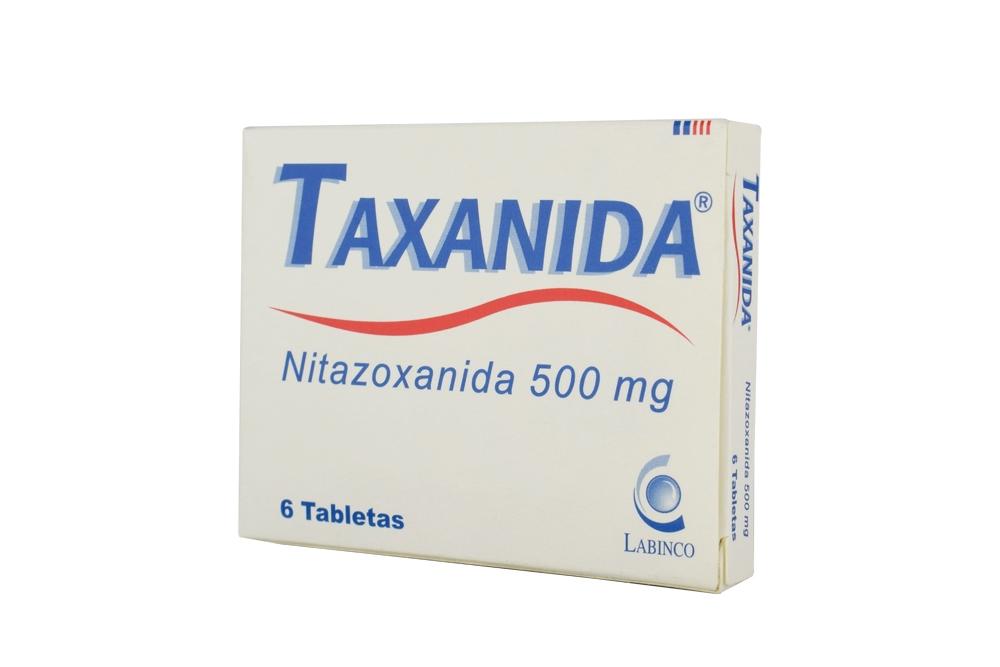 Taxanida 500 mg Caja Con 6 Tabletas Rx