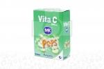 Vita C Pops 500 mg Caja x 5 Sobres Granulados Sabor A Manzana.