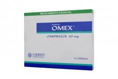 OMEX 40 MG CAJA X 15 CÁPSULAS Rx