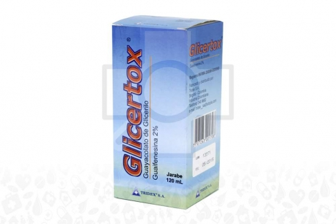 Glicertox 2% Jarabe Caja Con Frasco x 120 mL