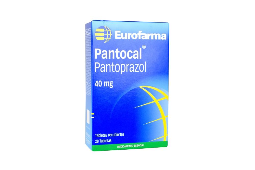 Pantocal 40 mg Caja Con 28 Tabletas Recubiertas Rx