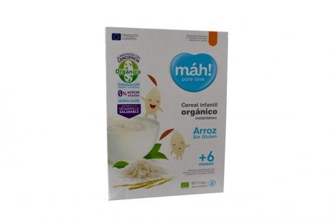 Cereal Infantil Mah Arroz Caja X 210 Grs / Mah