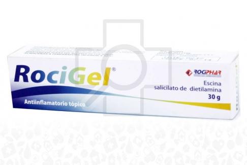 Rocigel Caja Con Tubo x 30 g