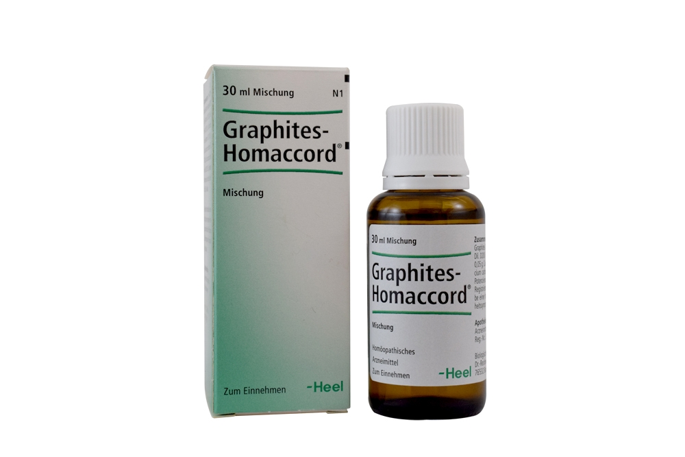 Graphites-Homaccord Frasco Con 30 mL Rx