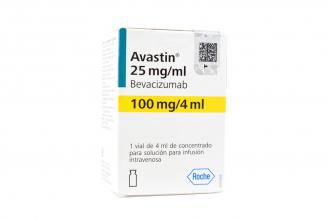 Avastin 100 mg Concentrado Para Solución Para Infusión Caja Con Vial Con 4 ml Rx1 Rx3
