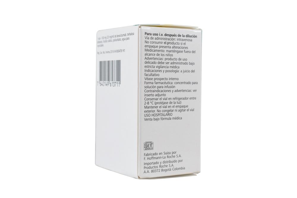 Avastin : Bevacizumab 100 Mg/4 Ml Injection - HGH Deluxe