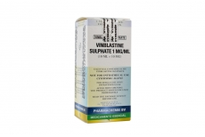 Vinblastina 10 mg Caja Con 1 Vial Rx3 Rx4
