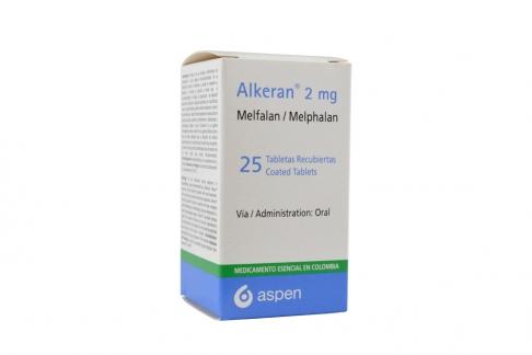 Alkeran 2 mg Caja Con Frasco Con 25 Tabletas Recubiertas Rx3 Rx4
