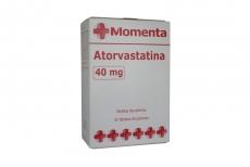 Atosvastatina Momenta 40 mg Caja Con 30 Tabletas Recubiertas Rx4