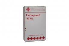 Pantoprazol 40 mg Caja Con 28 Tabletas De Cubierta Enteríca Rx