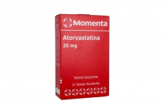 Atorvastatina 20 mg Caja Con 10 Tabletas Recubiertas Rx4
