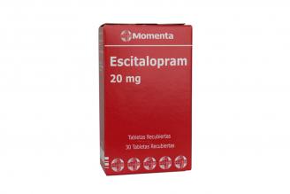 Escitalopram 20 mg Caja Con 30 Tabletas Recubiertas Rx4