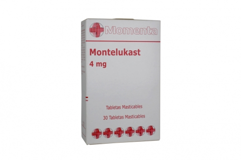 Montelukast 4 mg Caja Con 30 Tabletas Masticables Rx4