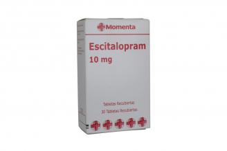 Escitalopram 10 mg Caja Con 30 Tabletas Recubiertas Rx4
