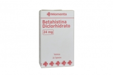 Betahistina Diclorhidrato 24 mg Caja Con 30 Tabletas Rx