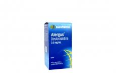 Alergus Jarabe 0.5 mg / mL Caja Con Frasco Con 60 mL Rx