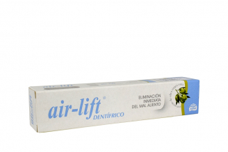 Crema Dental Air-Lift Dentífrico Caja Con Tubo Con 50 mL