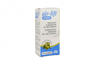 Spray Air-Lift 0% Alcohol Caja Con Frasco Con 15 mL