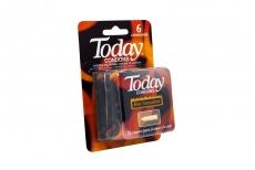 Condones Today Hot Sensation Caja Con 6 Unidades