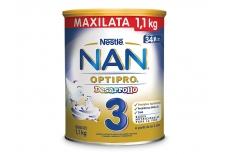 NAN® 3 Optipro Desarrollo Tarro Con 1.100 g - Desde Los 2 Años