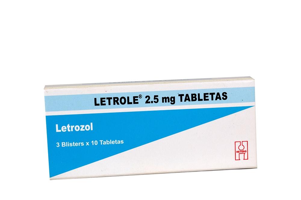 Comprar Letrole 2.5 mg Caja 30 Tabletas En Farmalisto Colombia. dc68c72eaa34