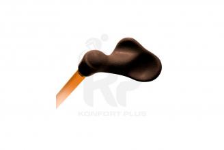 Bastón Con Empuñadura Ergonómica Izquierda Konfort Plus - Color Naranja