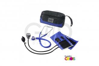 Kit Fusión Tensiómetro Y Fonendoscopio Rappaport GMD Con Estuche - Lila